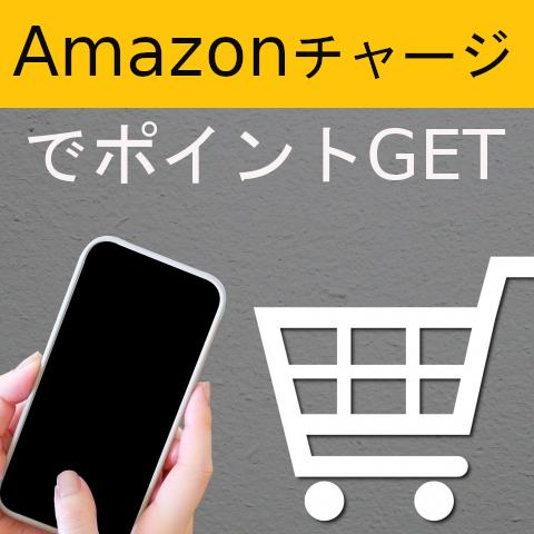 Amazonの買い物はAmazonチャージがお得!!